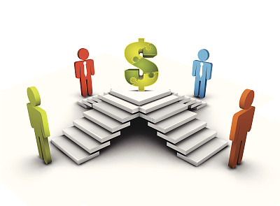 商务,领导能力,灵感,形状,美元符号,绘画插图,阴影,商务会议,男商人,想法