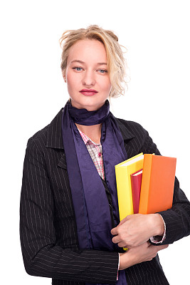 女商人,垂直画幅,留白,领导能力,套装,图像,经理,仅成年人,青年人