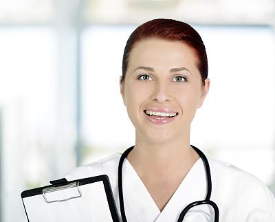 肖像,看护助理,女护士,医科学生,水平画幅,注视镜头,诊疗室,医疗工具,制服