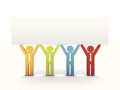 布告,商务,领导能力,灵感,形状,绘画插图,阴影,商务会议,男商人,想法