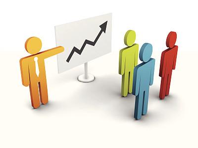商务,领导能力,形状,绘画插图,阴影,商务会议,箭头符号,男商人,三维图形,公司企业