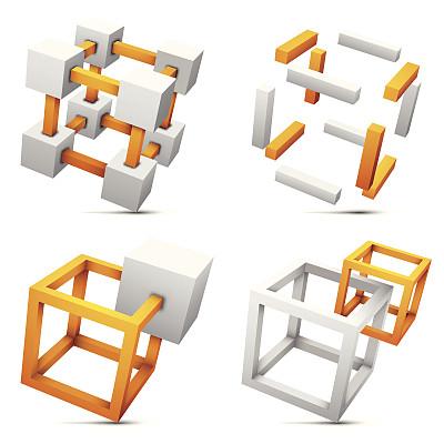 化学元素周期表,灰色,形状,橙色,银色,无人,绘画插图,剪贴画,符号,阴影