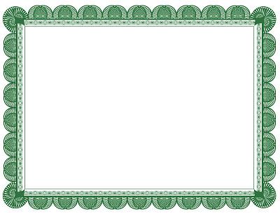 证书,边框,文档,打叉,绿色,死亡证明,出生证明,结婚证书,空白的,留白