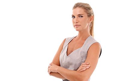 女人,职业,力量,道德,美,留白,领导能力,半身像,水平画幅,注视镜头