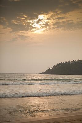 海滩,鸡尾酒,概念和主题,垂直画幅,水,度假胜地,旅游目的地,沙子,无人,夏天