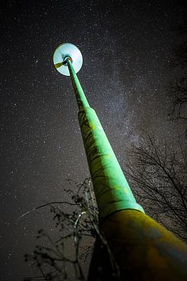 绿色,夜晚,抽象,灯笼,andromeda galaxy,垂直画幅,图像聚焦技术,选择对焦,天空,星系