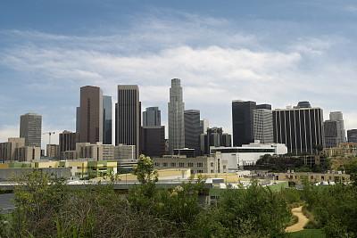 洛杉矶,公园,水平画幅,无人,洛杉矶县,巨大的,夏天,户外,美洲,草