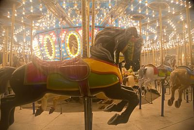 圆形,围棋,加拿大国家展览,游乐园,旅游嘉年华,休闲活动,水平画幅,夜晚,无人,电灯泡