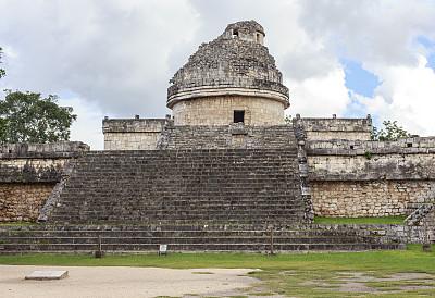 契晨-伊特萨,天文台,墨西哥中部,尤卡坦州,纪念碑,灵性,古老的,石灰石,石材