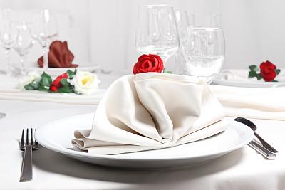 桌子,婚礼,留白,纺织品,餐厅负责人,花束,彩色图片,婚姻,餐巾,晚餐