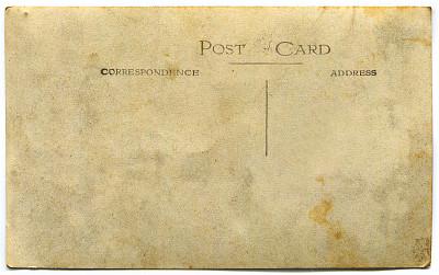 明信片,剪贴路径,贺卡,留白,古董,水平画幅,纹理效果,19世纪风格,无人,衰老过程