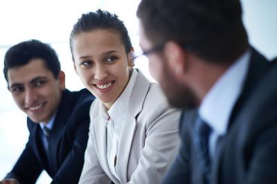 商务,一群男人中间的一个女人,选择对焦,水平画幅,人群,商务关系,白人,男商人,经理