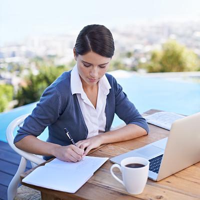 留白,电子邮件,早晨,文档,仅成年人,网上冲浪,青年人,信心,技术,计算机