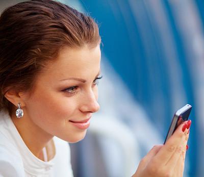 青年人,手机,女商人,图像,经理,仅成年人,现代,专业人员,清新,商务