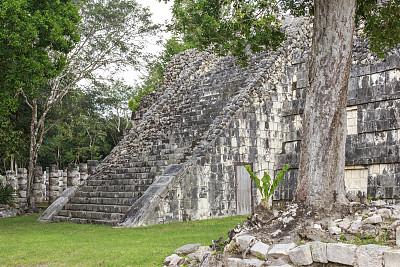 契晨-伊特萨,墨西哥中部,尤卡坦州,灵性,古代文明,中美洲,古老的,石灰石,石材,过去