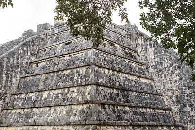 契晨-伊特萨,墨西哥中部,尤卡坦州,灵性,古代文明,古老的,石灰石,石材,过去