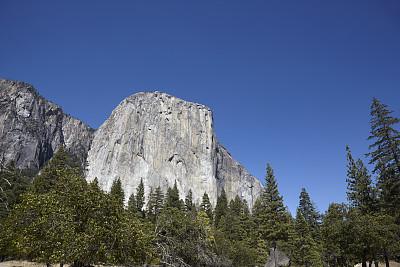 船长岩,美国,天空,留白,美国西部,水平画幅,无人,户外,美洲,北美