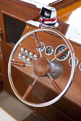 木制,船,特写,简单,座舱,方向盘,自然,垂直画幅,水,古董
