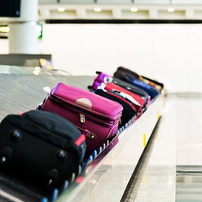 行李提取厅,行李,腰带,传送带,水平画幅,无人,货运,走廊,组物体,交通方式