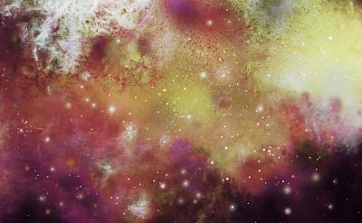 星云,抽象,涂料,数码图形,仙女座星系,超新星,未来,星系,艺术