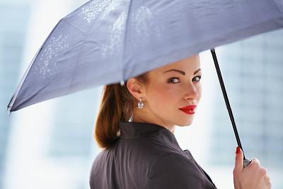 青年人,女商人,伞,套装,休闲活动,图像,经理,仅成年人,现代,专业人员