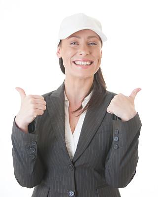教练,商务,幸福,垂直画幅,美,半身像,注视镜头,手势语,美人,套装