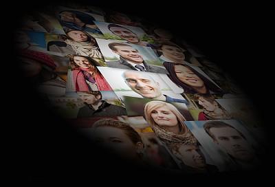 人,面部表情,多样,秃头,青少年,30到39岁,青春期,拉美人和西班牙裔人,水平画幅,注视镜头