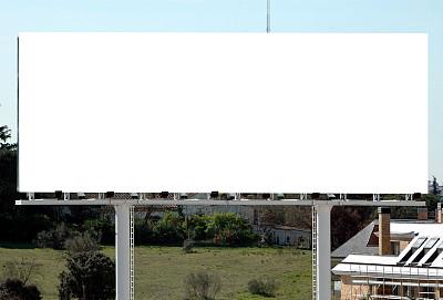 布告栏,组图,出租标志,汽车旅馆标志,信息符号,空白的,留白,水平画幅,消息