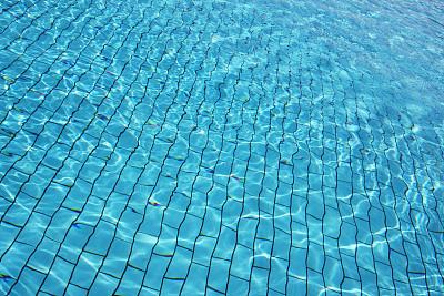 水,蓝色,背景,水平画幅,纹理效果,游泳池,湿,纯净,夏天,干净