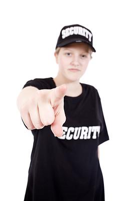 安全,保镖,警卫人员,贴身保镖,垂直画幅,青少年,船尾,白人,预兆的,白色