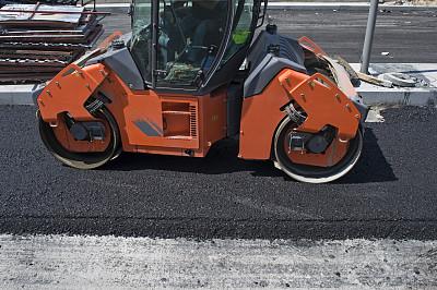路,传送带,合金车轮,压路车,压土机,铺沥青机,道路工程,建筑施工车辆,新的,车轮