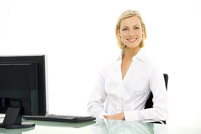青年人,办公室,注视镜头,留白,仅成年人,头发,白色,专业人员,人的脸部,技术