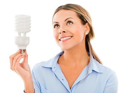 灵感,女商人,能源,灯,仅成年人,电源,想法,青年人,专业人员,效率