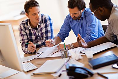 设计师,留白,非裔美国人,男商人,文档,男性,仅成年人,明亮,想法,建筑业