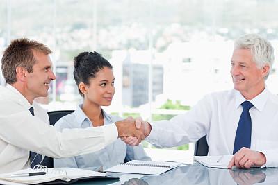 桌子,商务人士,侧面视角,水平画幅,会议,商务会议,白人,男商人,经理,男性
