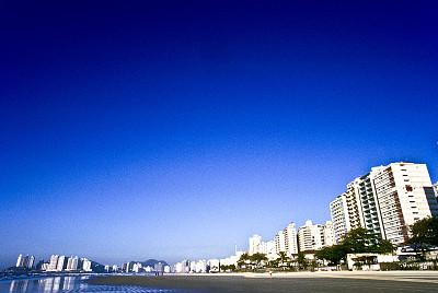 岛,巴西,安全护栏,瓜路狭,摩托艇,圣保罗州,圣保罗,南美,水平画幅,无人