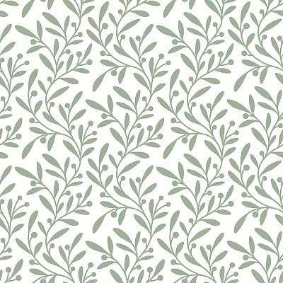 四方連續紋樣,綠色,枝,油橄欖樹,芥菜,花紋,植物學,漩渦形,葉子,式樣