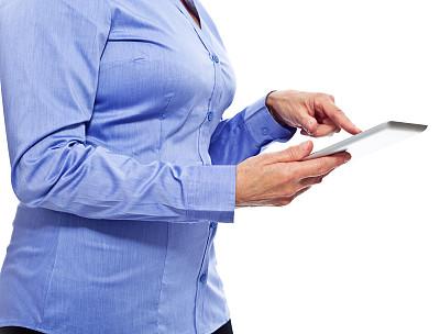 老年人,女商人,平板电脑,食指,躯干,电子邮件,电子商务,仅成年人,现代,网上冲浪