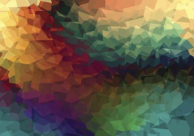 三角形,暗色,背景,式样,无人,绘画插图,抽象,矢量,多色的,设计