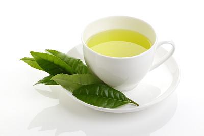 清新,绿色,绿茶,茶叶,茶道,叶绿素,水平画幅,枝繁叶茂,无人,茶碟