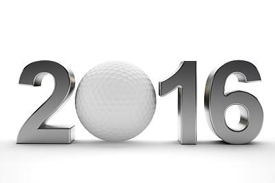 2016,高尔夫球运动,高尔夫球,球,新的,水平画幅,无人,符号,白色,运动