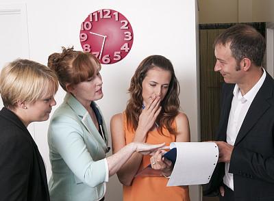 做计划,新的,办公室,美,水平画幅,美人,套装,白人,男商人,男性
