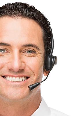 客户服务代表,白色人种,呼叫中心,免提装置,垂直画幅,服务业职位,男商人,男性,it技术支持,仅成年人