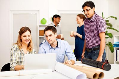 办公室,建筑师,印度人,男商人,新创企业,经理,男性,仅成年人,现代,想法