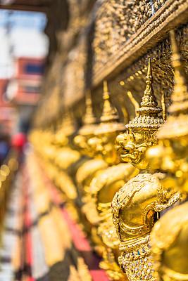 曼谷,玉佛寺,垂直画幅,纪念碑,美,灵性,无人,东亚,异国情调,户外