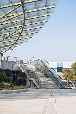 现代,街道,上海,陆家嘴,浦东,垂直画幅,无人,交通,都市风景,沥青