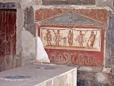 庞贝,伊特鲁里亚风格,阿玛尔菲,泥墙画,维苏威火山,化石,纳布勒斯,纪念碑,古典式