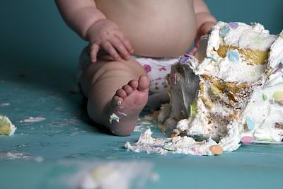 混沌,巨大的,人类脚趾,图像聚焦技术,选择对焦,饮食,水平画幅,足,蛋糕