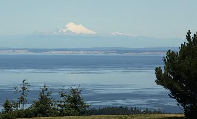 贝克尔山,普吉特海湾,水平画幅,消失点,无人,水平线,户外,看风景,自然,山