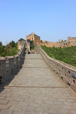 夏天,垂直画幅,天空,山,墙,无人,古老的,户外,要塞,石材